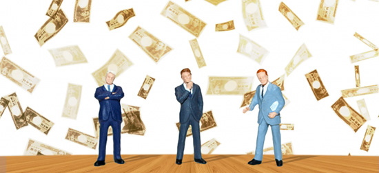 資金調達のイメージ